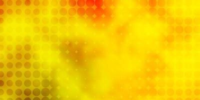 fundo de vetor amarelo verde claro com círculos abstratos discos coloridos em fundo gradiente simples novo modelo para seu brand book