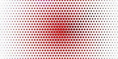 modelo de vetor rosa claro com círculos abstratos discos coloridos em padrão de fundo gradiente simples para folhetos de livretos