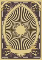 Fundo do poster vintage vetor