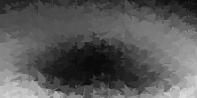 modelo de triângulo abstrato de vetor cinza claro