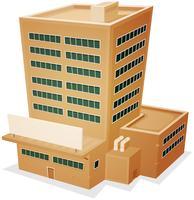 Edifício da Fábrica vetor
