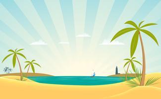 baía paradisíaca