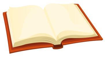 Abra o livro vetor