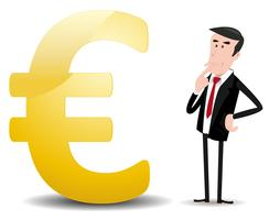 Qual futuro da moeda do euro? vetor