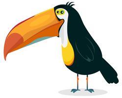 Tucano bonito dos desenhos animados