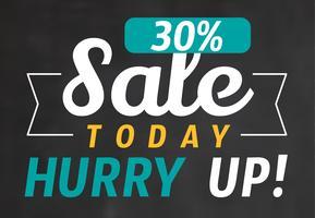 30% de venda!
