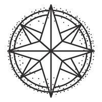 estrela magia celestial vetor
