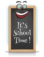 É hora da escola