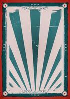 Quarto do cartaz do fundo do vintage de julho vetor
