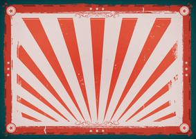 Cartaz horizontal do vintage do dia da independência vetor