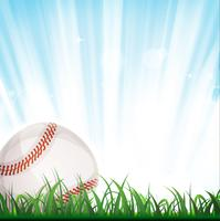 Fundo de beisebol vetor
