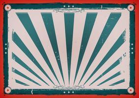 Cartaz horizontal do vintage do dia da independência