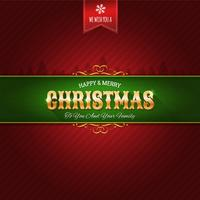 Fundo de enfeite de Natal vetor