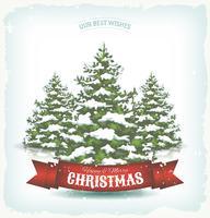 Fundo de Natal vintage vetor