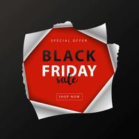 post de mídia social de sexta-feira negra vetor