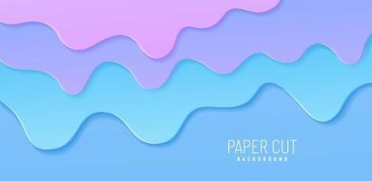 ilustração abstrata de respingo. explodiu chiclete. fundo do vetor com pastilha elástica azul rosa pastel ou sorvete derretendo. fluxo de líquido doce e pegajoso. ilustração vetorial