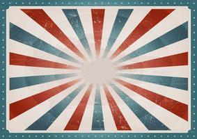 Fundo americano vintage vetor