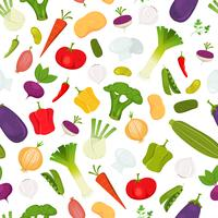 Fundo de legumes sem emenda