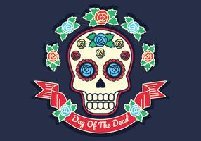 Dia da ilustração vetorial morto