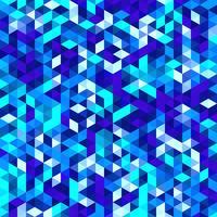 Mosaico de vetor poligonal, fundo de textura do triângulo, teste padrão geométrico