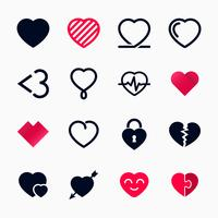 Símbolo do coração para o dia dos namorados