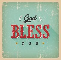 Deus abençoe você cartão