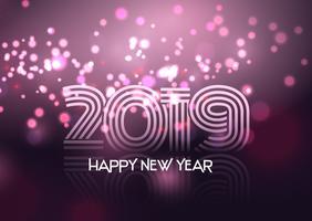 Fundo decorativo feliz ano novo