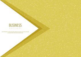 Design de brochura comercial abstrata vetor