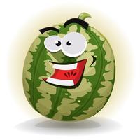 Personagem de melancia