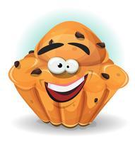 Personagem de bolo de desenho animado