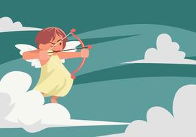 Ilustração vetorial de Cupido vetor