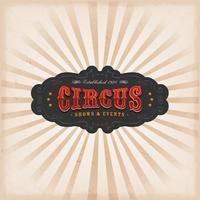 Fundo de circo com textura vetor