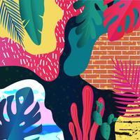 Selva tropical deixa o fundo