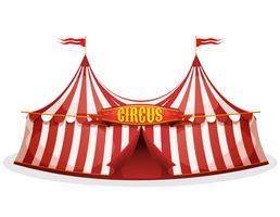Tenda de circo Big Top vetor