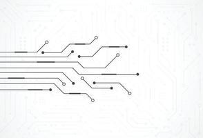 abstrato base digital com textura de placa de circuito de tecnologia. ilustração eletrônica da placa-mãe. comunicação e conceito de engenharia. ilustração vetorial vetor