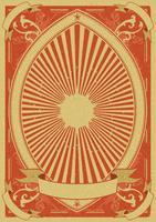 Fundo de Poster Vintage Grunge vetor