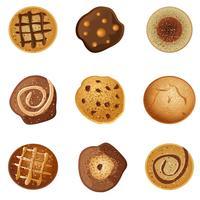 Biscoitos vetor