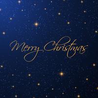 Fundo estrelado de Natal