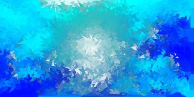 textura de polígono gradiente vetorial azul claro vetor