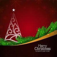 Resumo feliz Natal linda celebração fundo vetor