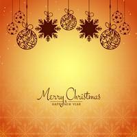 Resumo feliz Natal festival fundo de celebração vetor