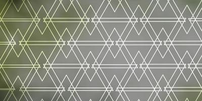 fundo cinza claro com linhas e triângulos vetor