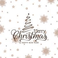 Resumo feliz Natal celebração elegante fundo vetor