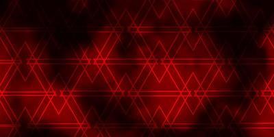 fundo vector vermelho escuro com linhas triângulos
