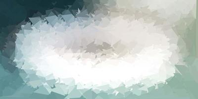 layout de polígono gradiente vetorial cinza claro vetor