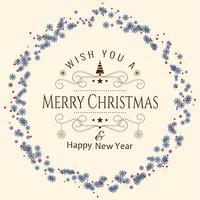 Fundo de celebração abstrata linda feliz Natal vetor