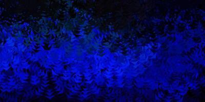 fundo vector azul escuro com triângulos
