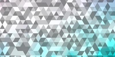 modelo de vetor rosa claro com triângulos de cristais
