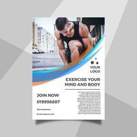 Modelo de Folheto - estilo de vida plano de saúde