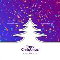 Fundo abstrato festival feliz Natal vetor
